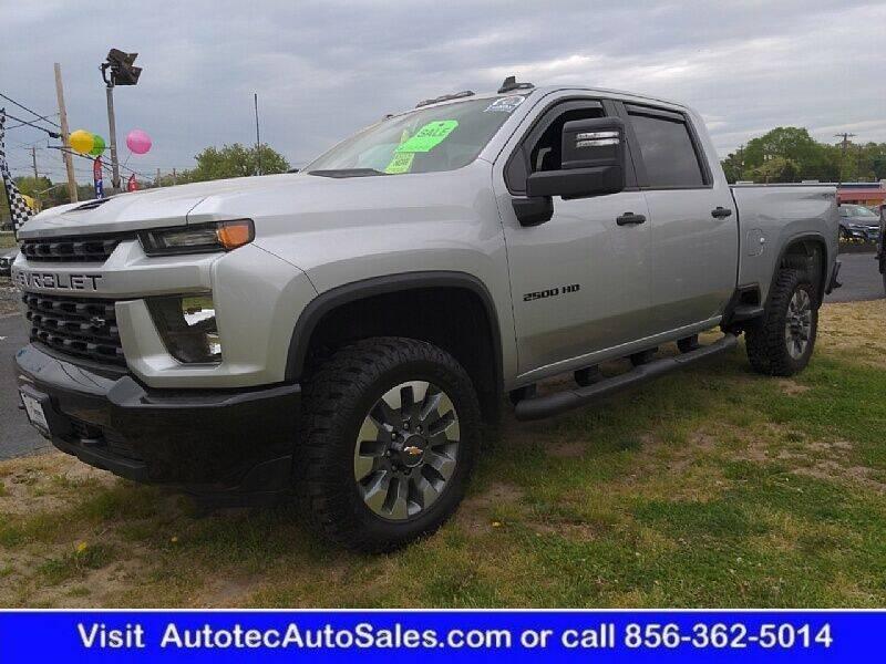 2021 Chevrolet Silverado 2500HD for sale at Autotec Auto Sales in Vineland NJ