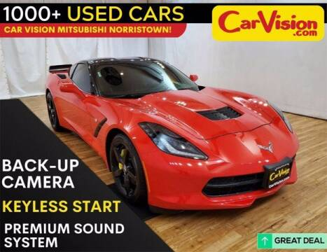 2015 Chevrolet Corvette for sale at Car Vision Buying Center in Norristown PA