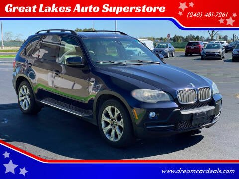 2007 BMW X5 for sale at Great Lakes Auto Superstore in Pontiac MI