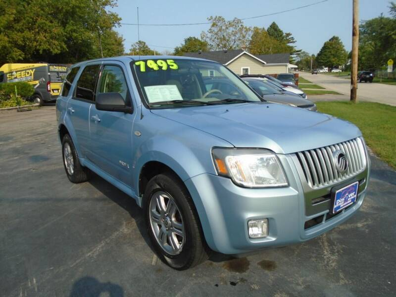 2008 Mercury Mariner for sale at DISCOVER AUTO SALES in Racine WI