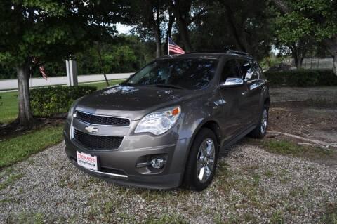 2011 Chevrolet Equinox for sale at STEPANEK'S AUTO SALES & SERVICE INC. in Vero Beach FL