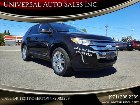 2013 Ford Edge for sale at Universal Auto Sales Inc in Salem OR