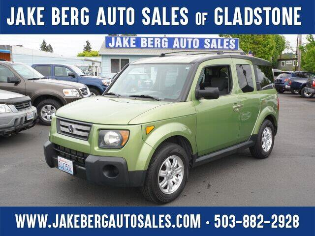 2008 Honda Element for sale at Jake Berg Auto Sales in Gladstone OR