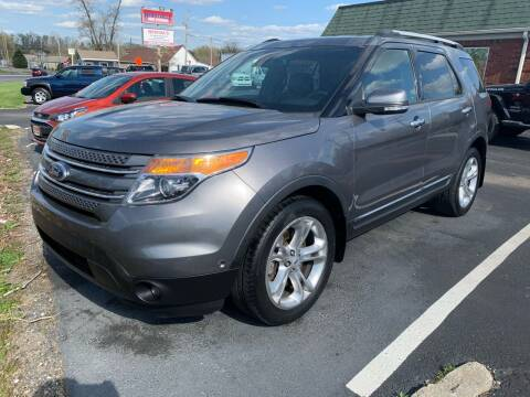 2014 Ford Explorer for sale at HILLS AUTO LLC in Henryville IN