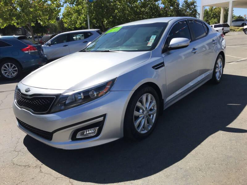 2015 Kia Optima for sale at Autos Wholesale in Hayward CA