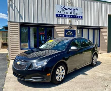 2013 Chevrolet Cruze for sale at Danny's Auto Deals in Grafton WI