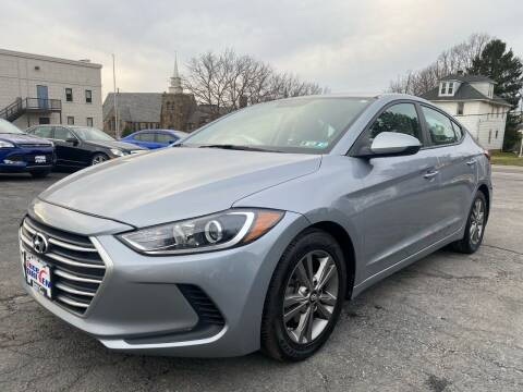 2017 Hyundai Elantra for sale at 1NCE DRIVEN in Easton PA