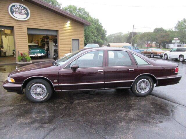 1994 Chevrolet Caprice for sale at Bill Smith Used Cars in Muskegon MI