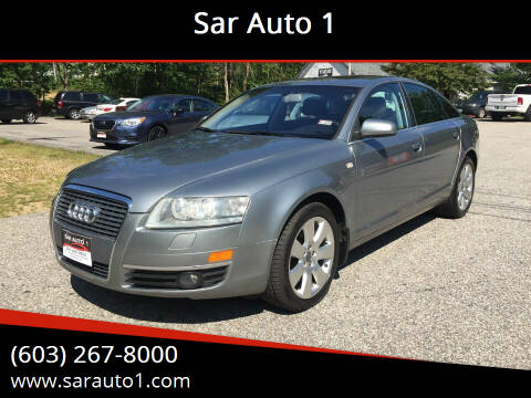 2007 Audi A6 for sale at Sar Auto 1 in Belmont NH