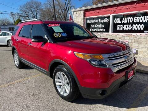 2012 Ford Explorer for sale at GOL Auto Group in Austin TX