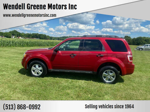 2011 Ford Escape for sale at Wendell Greene Motors Inc in Hamilton OH