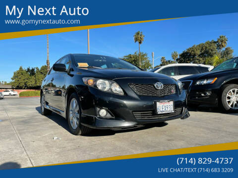 2010 Toyota Corolla for sale at My Next Auto in Anaheim CA