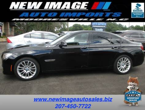2015 BMW 7 Series for sale at New Image Auto Imports Inc in Mooresville NC