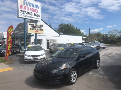 2015 Dodge Dart for sale at Sunray Auto Sales Inc. in Holiday FL