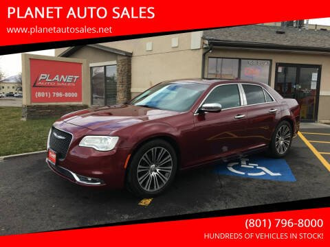 2017 Chrysler 300 for sale at PLANET AUTO SALES in Lindon UT