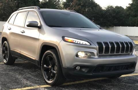 2018 Jeep Cherokee for sale at Guru Auto Sales in Miramar FL