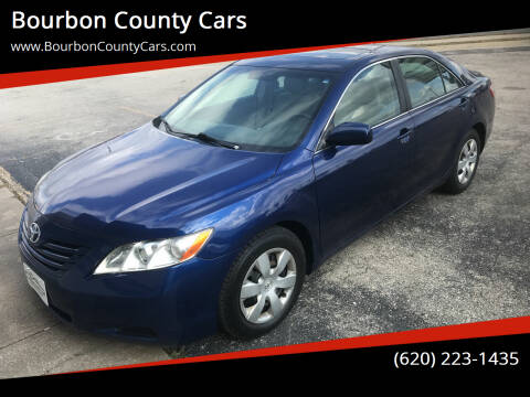 2008 Toyota Camry for sale at Bourbon County Cars in Fort Scott KS