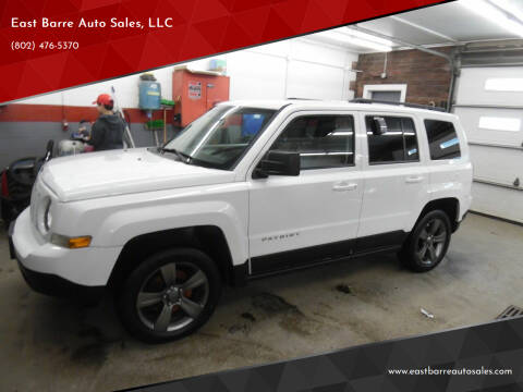 2015 Jeep Patriot for sale at East Barre Auto Sales, LLC in East Barre VT