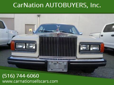 1984 Rolls-Royce Silver Spur for sale at CarNation AUTOBUYERS, Inc. in Rockville Centre NY