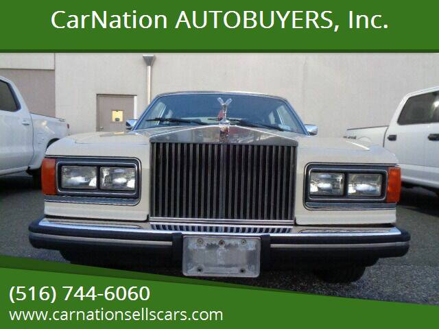 1984 Rolls-Royce Silver Spur for sale at CarNation AUTOBUYERS Inc. in Rockville Centre NY