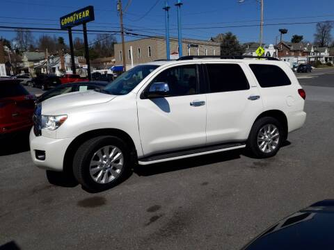 2011 Toyota Sequoia for sale at Automotive Fleet Sales in Lemoyne PA