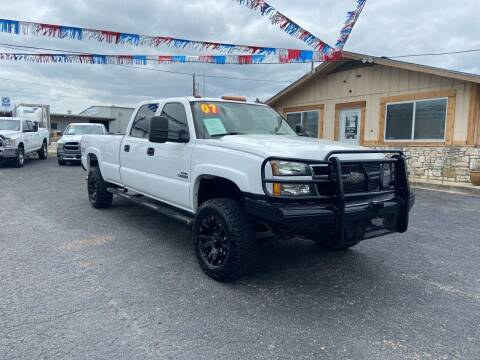 2007 Chevrolet Silverado 3500 Classic for sale at The Trading Post in San Marcos TX