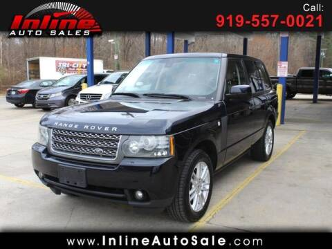 2010 Land Rover Range Rover for sale at Inline Auto Sales in Fuquay Varina NC