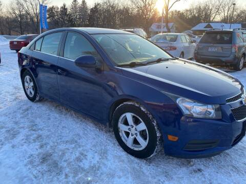2012 Chevrolet Cruze for sale at Sunrise Auto Sales in Stacy MN