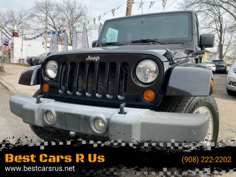 2007 Jeep Wrangler Unlimited for sale at Best Cars R Us in Plainfield NJ