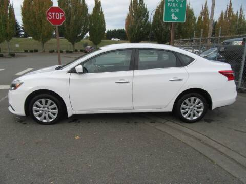 2017 Nissan Sentra for sale at Car Link Auto Sales LLC in Marysville WA