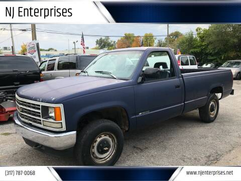 1993 Chevrolet C/K 1500 Series for sale at NJ Enterprises in Indianapolis IN