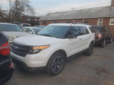 2013 Ford Explorer for sale at J & J Used Cars inc in Wayne MI