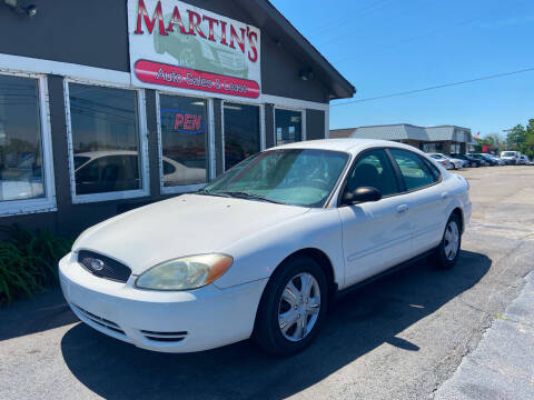 2006 Ford Taurus for sale at Martins Auto Sales in Shelbyville KY