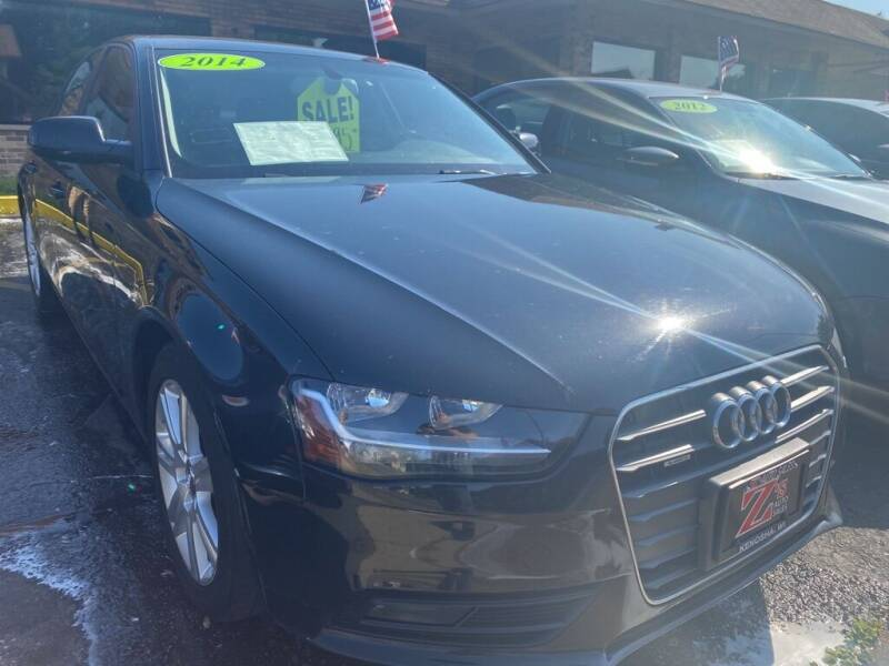 2014 Audi A4 for sale at Zs Auto Sales in Kenosha WI