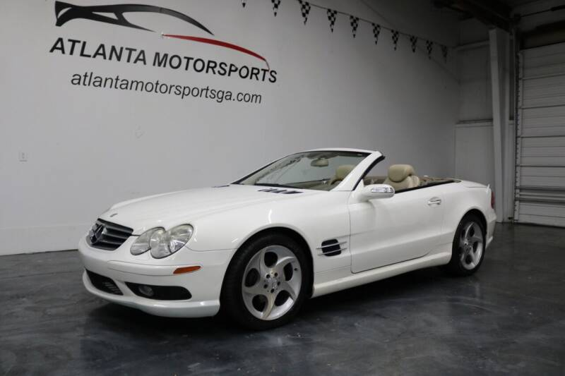 2005 Mercedes-Benz SL-Class for sale at Atlanta Motorsports in Roswell GA