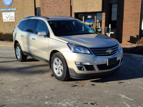 2014 Chevrolet Traverse for sale at Mighty Motors in Adrian MI