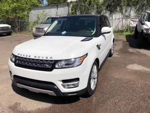 2016 Land Rover Range Rover Sport for sale at 4 Girls Auto Sales in Houston TX