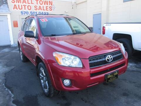 2012 Toyota RAV4 for sale at Small Town Auto Sales in Hazleton PA
