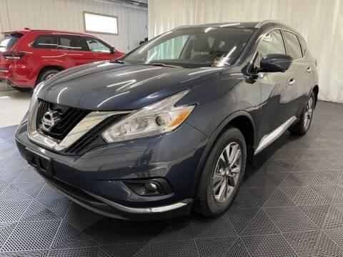 2017 Nissan Murano for sale at Monster Motors in Michigan Center MI