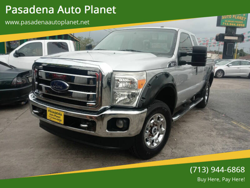 2012 Ford F-250 Super Duty for sale at Pasadena Auto Planet in Houston TX