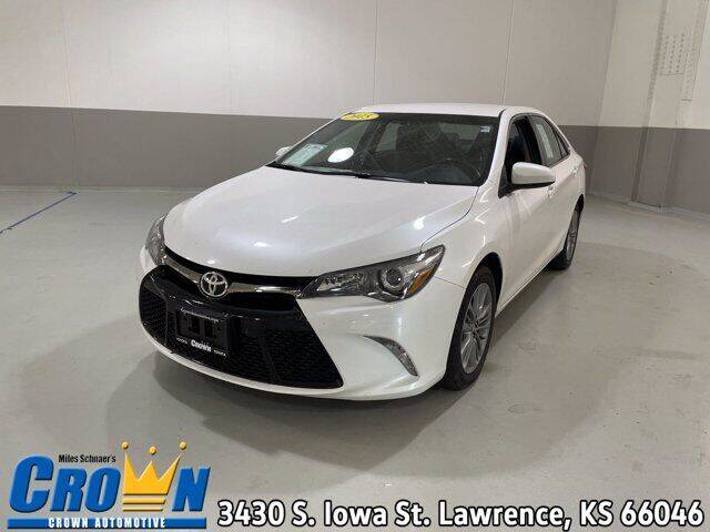 2015 Toyota Camry for sale at Crown Automotive of Lawrence Kansas in Lawrence KS
