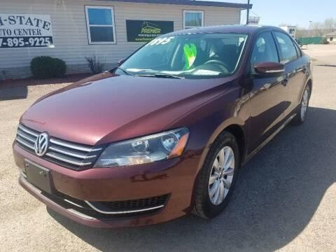 2013 Volkswagen Passat for sale at Tri State Auto Center in La Crescent MN