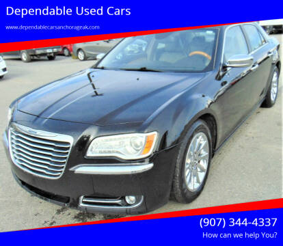 2012 Chrysler 300 for sale at Dependable Used Cars in Anchorage AK