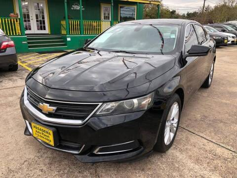 2014 Chevrolet Impala for sale at Pasadena Auto Planet in Houston TX