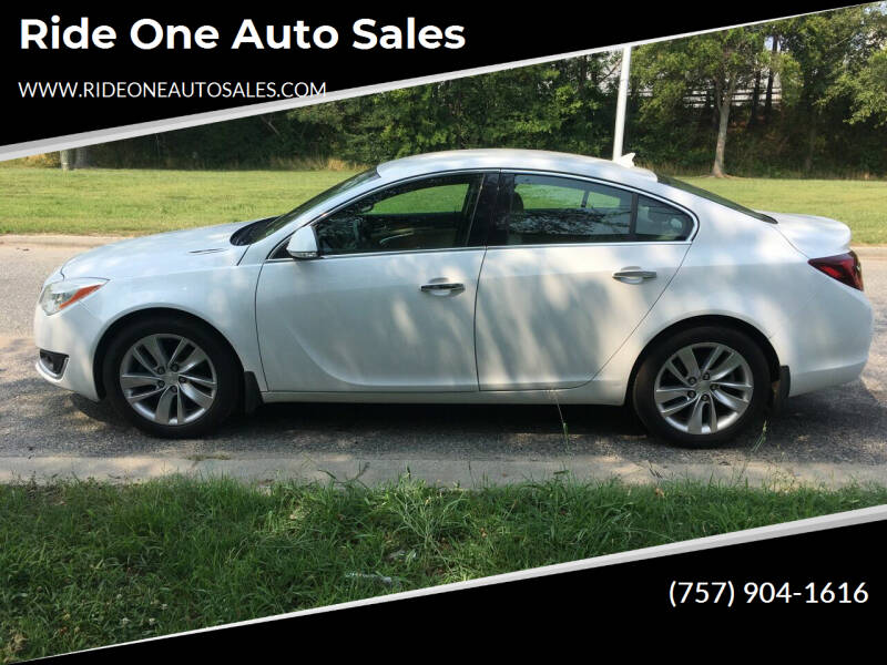 2014 Buick Regal for sale at Ride One Auto Sales in Norfolk VA