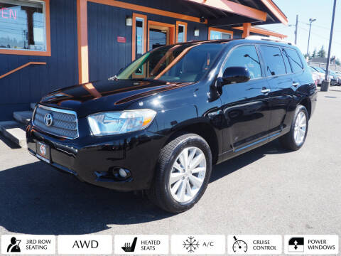2010 Toyota Highlander Hybrid for sale at Sabeti Motors in Tacoma WA