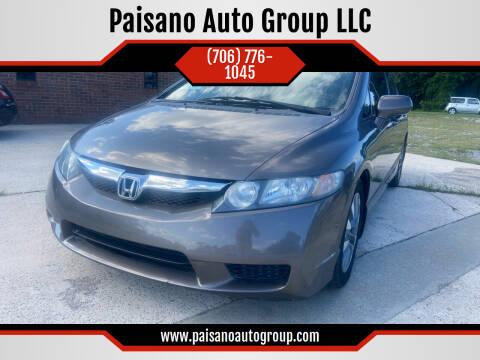 2009 Honda Civic for sale at Paisano Auto Group LLC in Cornelia GA