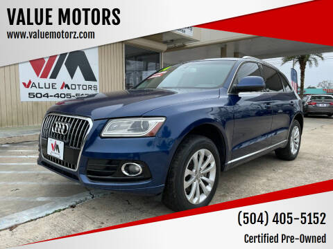 2014 Audi Q5 for sale at VALUE MOTORS in Kenner LA