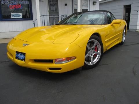 2003 Chevrolet Corvette for sale at Blue Arrow Motors in Coal City IL