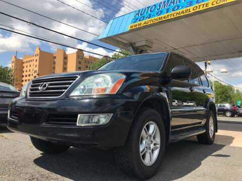 2004 Lexus GX 470 for sale at Auto Smart Charlotte in Charlotte NC